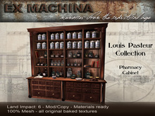Louis Pasteur - Pharmacy Cabinet by Ex Machina