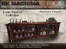 Louis Pasteur - Pharmacy Counter by Ex Machina