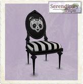 Serendipity Designs - Sugar Skull Chair - Panda