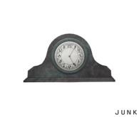 junk. vintage clock.
