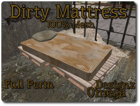Dirty Mattress Mesh Full Perm
