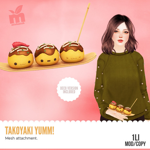 *MishMish* Takoyaki Yumm! [Boxed]