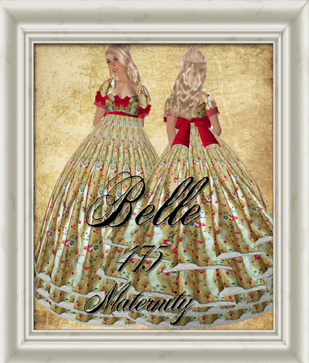 Second Life Marketplace Shabby Chic Southern Belle Maternity Dress