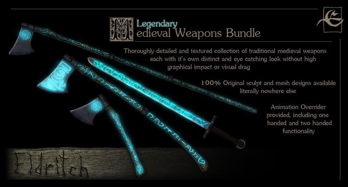 Medieval Arms Fundamentals - Legendary Bundle