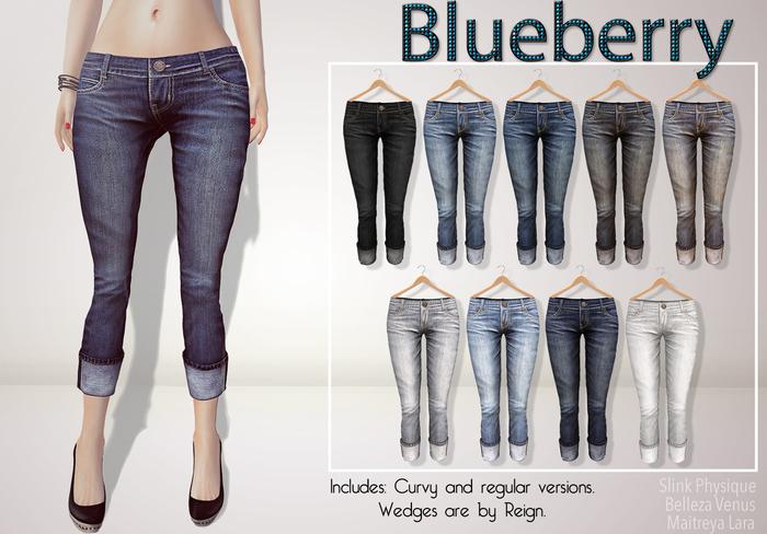 Blueberry Luna - Maitreya / Belleza / Slink - Fat Pack