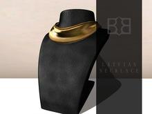 [B] 24K Latvian Gold Necklace