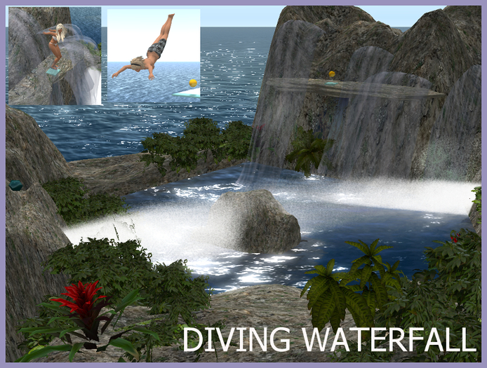 Diving Waterfall Giftbox