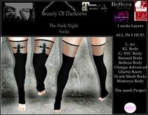 -BOD- The dark night socks