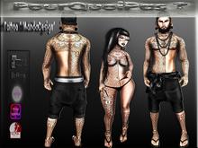 "PourQuoiPas Tattoo ""MandaDegn"" D/F"