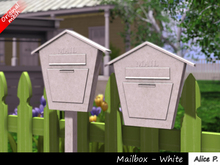 Alice P. - Mailbox white