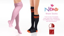 {Nena} Knee Socks - Colors