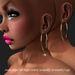 Earring Single-Twist Gold       -RYCA-