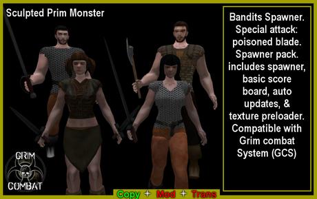 GCS Bandits Spawner pack