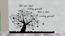 Wall Art With Text Life Isn't About Finding Yourself
