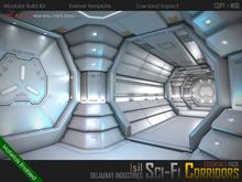 ~Isil~ <Modular Sci-Fi Corridor> Essentials Pack