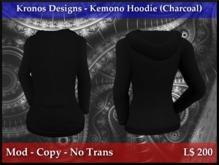 Kronos Designs - Kemono Hoodie (Charcoal)