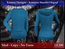 Kronos Designs - Kemono Hoodie (Aqua)