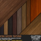 CLUTTER - Josh Wood Textures - 10PK