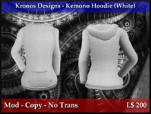 Kronos Designs - Kemono Hoodie (White)