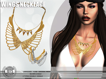 [Since 1975] - Wings Necklace Pack