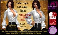 FABIO style Shirt - GIRL - WHITE v2 (BOXED)