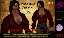 FABIO STYLE SHIRT - Red v3 (BOXED)