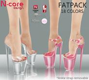 "N-core PLEASURE GLASS ""FatPack"" for High Feet (Rigged Mesh)"