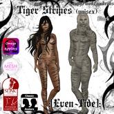 :[Even~Tide]: Tiger Stripes - Black