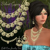 Silent Gypsy Gold Jewelry Set