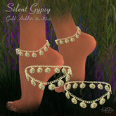 Silent Gypsy Gold Anklets