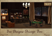 :Bee Designs :. Chicago bar - Box