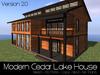 Modern Cedar Lake House V2 (PKG)