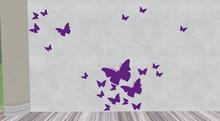 Miss Mo's Purple butterfly's