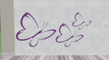 Miss Mo's Purple butterfly's 2