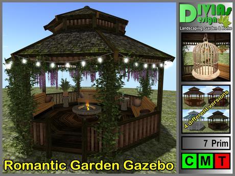 Romantic Garden Gazebo