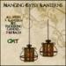 Hanging Gypsy Lanterns - Red