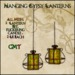 Hanging Gypsy Lanterns - Gold