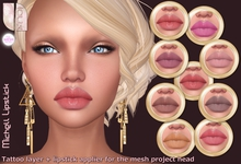 - Loux - Lipstick Michell all tones - The Mesh Project applier + tattoo layer