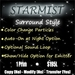 "Starmist ""Surround"" - 30 meters -  Particle Effect from Basic Elements"