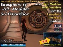 Linkup - Isil Modular Sci-Fi Corridor to Exosphere Modules [4 prims]