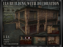 1L$ Building with Decoration