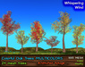 21strom Colorful Oaks MULTICOLORS - 24 Mesh Trees with Animated Foliage