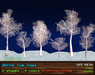 21strom Winter Oaks - 24 Mesh Trees with Animated Foliage