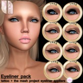 - LOUX - 8 Eyeliners Fatpack (tattoo + The Mesh Project applier)