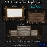 ~tc~ MESH Wooden Display Set Full Perm
