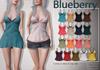 Blueberry Mima - Maitreya / Belleza / Slink - Fat Pack