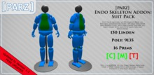 [Parz] Endo Skeleton Suit Pack