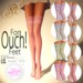!~SV~! Lace Stockings/W Seams {Pastels}
