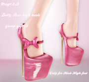 So High Bow Heels Dolly *Gift*