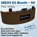 Mesh DJ booth N1